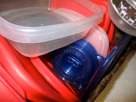 Messy tupperware