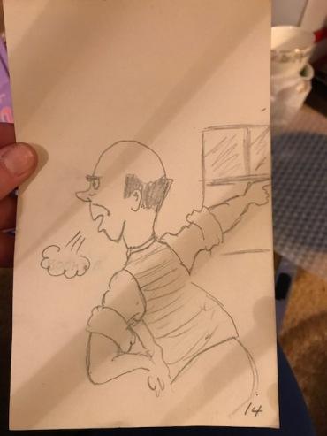 Gramp's cartoon drawings!